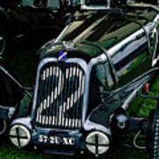 1930's Talbot Lago T23 Race Car Poster