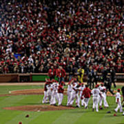 2011 World Series Game 7 - Texas Poster