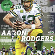 31 Teams, 1 Goal Stop Aaron Rodgers, 2017 Nfl Football Sports Illustrated Cover Poster