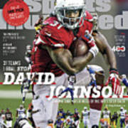 31 Teams, 1 Goal Stop David Johnson, 2017 Nfl Football Sports Illustrated Cover Poster