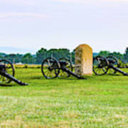 4th United States Artillery Poster