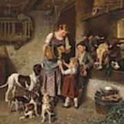 Adolf Eberle  Fresh Milk Poster