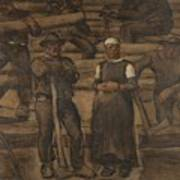 Albin Egger-lienz 1868 - 1926 The Ages Of Life Poster