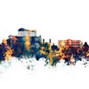 Athens Greece Skyline Poster