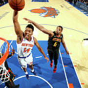 Atlanta Hawks V New York Knicks Poster