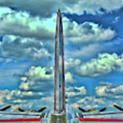 B-17 Tail Fin Poster