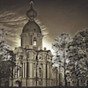 Beautiful Smolny Monastery Poster