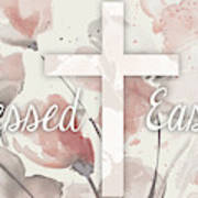 Blessed Easter Poster