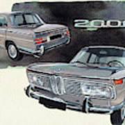 Bmw 2000 Poster