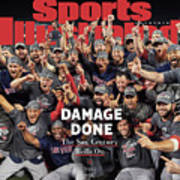 Boston Red Sox, 2018 World Series Champions Sports Illustrated Cover Poster