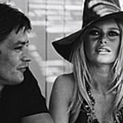 Brigitte Bardot In Saint Tropez, France Poster