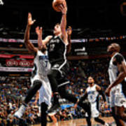 Brooklyn Nets V Orlando Magic Poster
