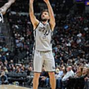Brooklyn Nets V San Antonio Spurs Poster
