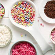 Candy Sprinkles Poster