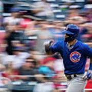 Chicago Cubs V Washington Nationals Poster