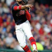 Chicago White Sox V Cleveland Indians 1 Poster