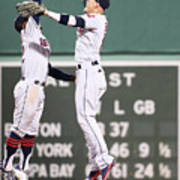 Cleveland Indians V Boston Red Sox 1 Poster