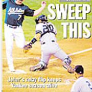 Daily News Back Page Derek Jeter Poster