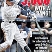 Daily News Front Page Derek Jeter Poster