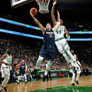 Dallas Mavericks V Boston Celtics Poster