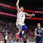 Dallas Mavericks V Philadelphia 76ers Poster