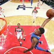Dallas Mavericks V Washington Wizards Poster