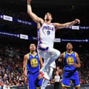 Golden State Warriors V Philadelphia Poster
