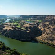 Green Snake River Poster