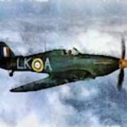Hawker Hurricane, Wwii Poster
