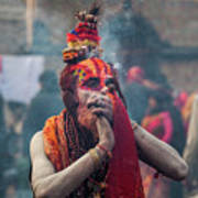 Hindu Devotees Gather For Annual Shiva Poster