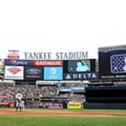 Houston Astros V New York Yankees Poster