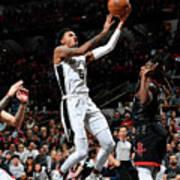 Houston Rockets V San Antonio Spurs Poster