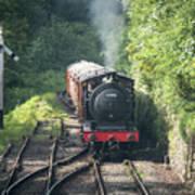 J27 Locomotive 65894 On North York Moors Railway Poster