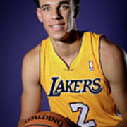 Los Angeles Lakers Introduce Lonzo Ball Poster