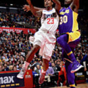 Los Angeles Lakers V La Clippers Poster