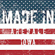 Made In Aredale, Iowa Poster