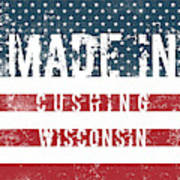 Made In Cushing, Wisconsin Poster
