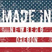 Made In Newberg, Oregon Poster