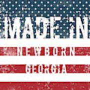 Made In Newborn, Georgia Poster