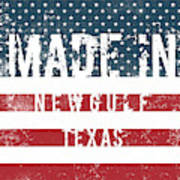 Made In Newgulf, Texas Poster