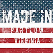 Made In Partlow, Virginia Poster