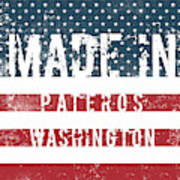 Made In Pateros, Washington Poster