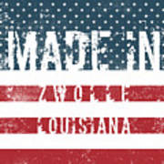 Made In Zwolle, Louisiana Poster