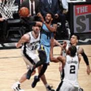 Memphis Grizzlies V San Antonio Spurs - Poster