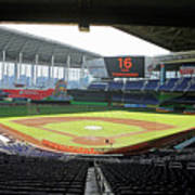 Miami Marlins News Conference Poster