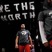 Milwaukee Bucks V Toronto Raptors Poster