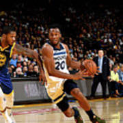 Minnesota Timberwolves V Golden State Poster