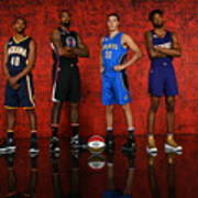 Nba All-star Portraits 2017 Poster