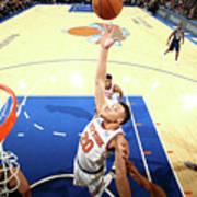 New Orleans Pelicans V New York Knicks Poster