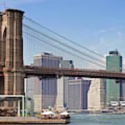 New York City Brooklyn Bridge Poster